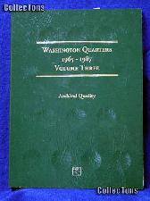 Littleton Washington Quarters 1965-87 Coin Folder LCF14