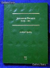 Littleton Jefferson Nickels 1938-1961 Coin Folder LCF25