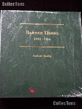 Littleton Barber Dimes 1892-1916 Album LCA60