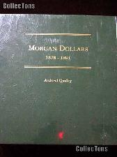 Littleton Morgan Silver Dollars 1878-1891 Album LCA8