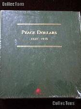 Littleton Peace Silver Dollars 1921-1935 Album LCA10