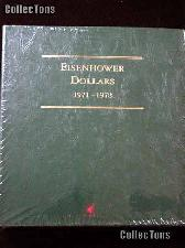 Littleton Eisenhower Ike Dollars 1971-1978 Album LCA11