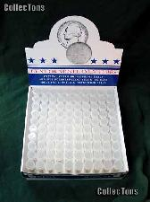 100 Harris Round Coin Tubes for 50 SMALL CENTS