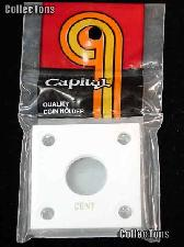 Capital Plastics 2x2 Holder - CENT in White