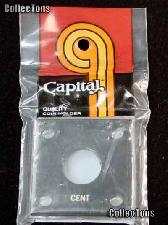 Capital Plastics 2x2 Holder - CENT in Black
