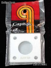 Capital Plastics 2x2 Holder - QUARTER in White