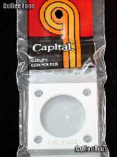 Capital Plastics 2x2 Holder - ONE oz EAGLE in White
