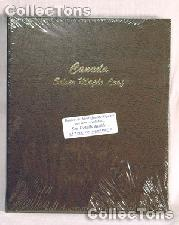 Dansco Canada Silver Maple Leafs Album #7215