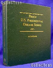 Littleton Proof Only Presidential Dollars Album LCA71