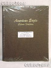 Dansco American Eagle Silver Dollars Album #7181