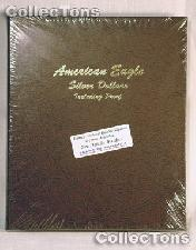 Dansco Silver Eagles with Proof 1986-2006 Album #8181