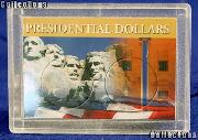 Harris 2x3 Permalock Holder 2 PRESIDENTIAL DOLLARS