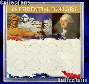 Harris 6.5x6.5 Permalock Holder 8 PRESIDENTIAL DOLLARS