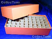 Coin Roll Box for 50 Rolls or Tubes of QUARTERS