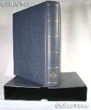 Lighthouse OPTIMA-F Coin Binder and Slipcase in Blue