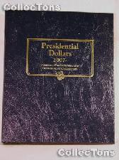 Presidential Dollars P&D Whitman Classic Album #2227