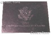 1992 Premier Silver Proof Set - Deluxe 5 Coin Set