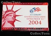 2004 U.S. Mint SILVER PROOF SET - 11 Coins
