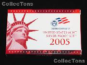 2005 U.S. Mint SILVER PROOF SET - 11 Coins