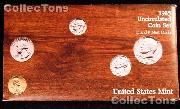 1985 U.S. Mint Uncirculated Set - 10 Coins