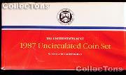 1987 U.S. Mint Uncirculated Set - 10 Coins