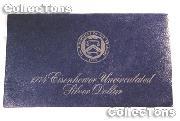 1974-S BLUE IKE EISENHOWER SILVER DOLLAR * BU