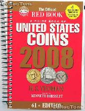 Whitman Red Book United States Coins 2008 - Spiral