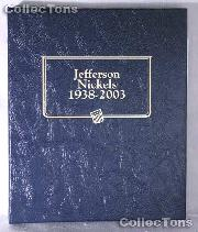 Jefferson Nickels 1938-2003 Whitman Classic Album #9116