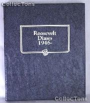 Roosevelt Dimes 1946-2013 Whitman Classic Album #3394
