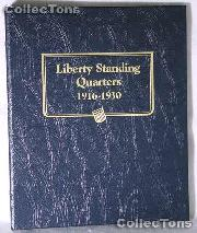 Standing Liberty Quarters Whitman Classic Album #9121