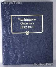 Washington Quarters 1932-90 Whitman Classic Album #9122