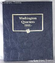 Washington Quarters 1991-00 Whitman Classic Album #9123