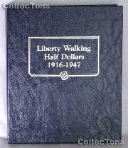 Liberty Walking Half Dollar Whitman Classic Album #9125