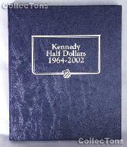 Kennedy Half Dollars 64-02 Whitman Classic Album #9127