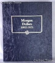 Morgan Dollars 1892-1921 Whitman Classic Album #9129
