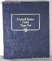 United States Gold Type Set Whitman Classic Album #9170