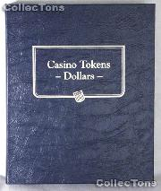 Casino Dollar Tokens Whitman Classic Album #9174