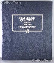 Statehood Quarters P&D Whitman Classic Album #8089