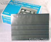 100 Lighthouse Approval Cards 4-Strip Cardboard EKC6D/4