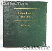 Littleton Large Cents 1793-1857 Album LCA36