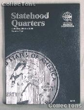 Whitman Statehood Quarters 2002-2005 Folder 8111
