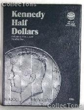 Whitman Kennedy Half Dollars 1964-1985 Folder 9699