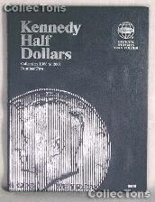 Whitman Kennedy Half Dollars 1986-2003 Folder 9698