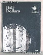 Whitman Blank U.S. Half Dollars Folder 9045
