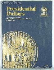Whitman Presidential Dollars 2007-11 P & D Folder 2275