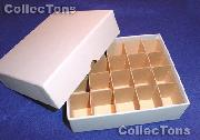 Coin Roll Box for 20 Rolls or Tubes of SMALL DOLLARS