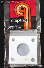 Capital Plastics 2x2 Holder - HALF CENT in White