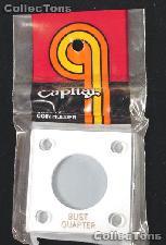 Capital Plastics 2x2 Holder - BUST QUARTER - White