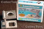 Lighthouse Metal Foldaway 10X Magnifier FZ10