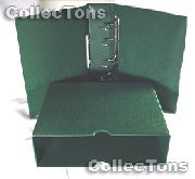 Lighthouse OPTIMA-G Coin Binder and Slipcase in Green